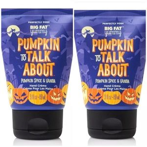 2 Perfectly Posh Pumpkin to Talk About hand creme